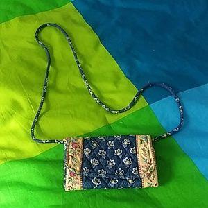 Vera Bradley string wallet